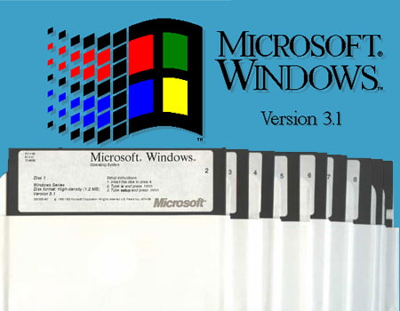 Biraz Nostalji Windows 3.1